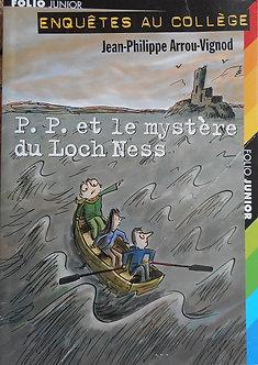 """Jean-Philippe Arrou-Vignod """"P.P. et le mystère du Loch Ness"""""""