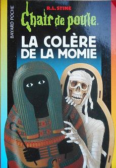 "R L Stine  ""La colère de la momie"""