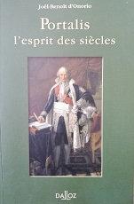 """Joël-Benoît d'Onorio """"Portalis, l'esprit des lumières"""""""