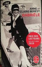 """Anne et Claire Berest """"Gabriële"""""""