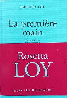 "Rosetta Roy ""La première main"""
