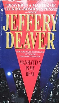 "Jeffery Deaver ""Manhattan is my beat"""