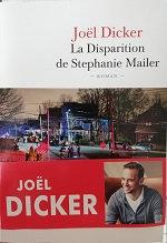 "Joël Dicker ""La Disparition de Stéphanie Mailer"""