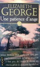 """Elizabeth George """"Une patience d'ange"""""""