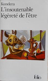 """Kundera """"L'insoutenable légèreté de l'être"""""""