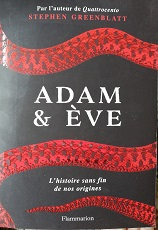 "Stephen Greenblatt ""Adam & Eve"""