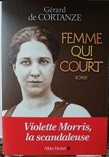 "Gérard de Cortanze ""Femme qui court"""