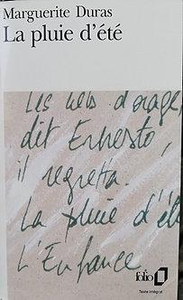 """Marguerite Duras """"La pluie d'été"""""""