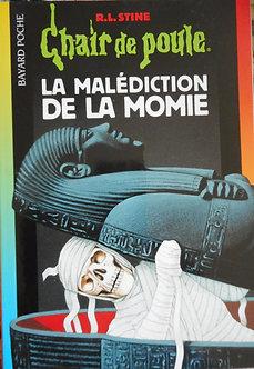 """R L Stine  """"La malédiction de la momie"""""""