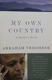 """Abrahan Verghese """"My own country"""""""