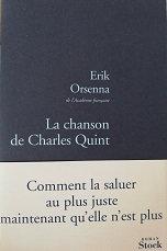 """Erik Orsenna """"La chanson de Charles Quint"""""""