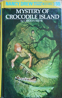"Carolyn Keene ""Mystery of crocodile island"""
