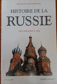 """Nicholas V. Riasanovsky """"Histoire de la Russie"""""""
