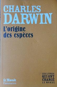 "Charles Darwin ""L'origine des espèces"""