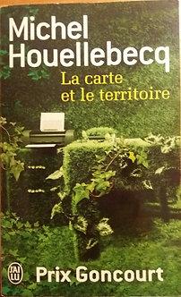 """Michel Houellebecq  """"La carte et le territoire"""""""