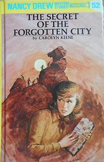 "Carolyn Keene ""The secret of the forgotten city"""