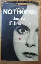 "Amélie Nothomb ""Journal d'Hirondelle"""