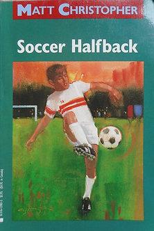 """Matt Christopher """"Soccer Halfback"""""""