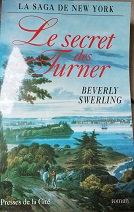 """Beverly Swerling """"Le secret des Turner"""""""