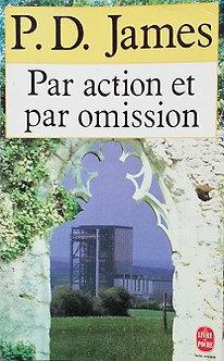 """P.D. James """"Par action et par omission"""""""