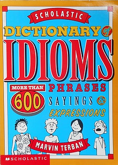 Dictionary Idioms 60 phrases & expressions