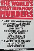 """Roger Boar& Nigel Blundell """"The world's most famous murders"""""""