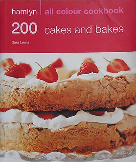 "Sara Lewis ""200 cakes and bakes"""