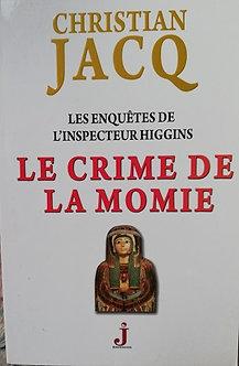 """Christian Jacq """"Le crime de la momie"""""""
