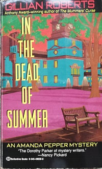"Gillian Roberts ""In the dead of summer"""