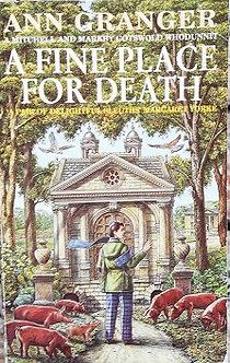 "Ann Granger ""A fine place for death"""