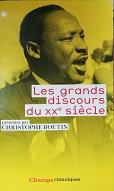 "Christophe Boutin ""Les grands discours du XXè siècle"""