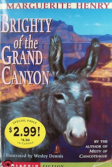 "Marguerite Henry ""Brightyof the grand canyon"""