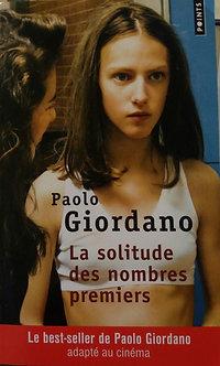 "Paolo Giordano  ""La solitude des nombres premiers"""