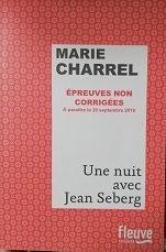 "Marie Charrel ""Une nuit avec Jean Seberg"""
