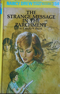"""Carolyn Keene """"The strange message in the parchment"""""""