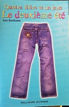 """Ann Brashares """"Quatre filles et un jean-Le deuxième été"""""""