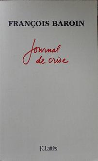 "Françoise Baroin ""Journal de crise"""