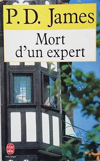 """P.D. James """"Mort d'un expert"""""""