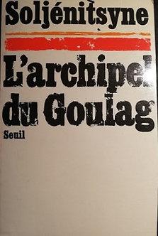 "Alexandre Soljénitsyne ""L'archipel du Goulag"""