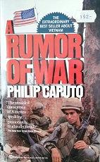 """Philip Caputo """"A rumor of war"""""""
