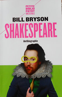 "Bill Bryson ""Shakespeare Antibiographie"""