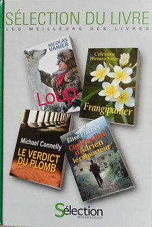 selection de 4 livres