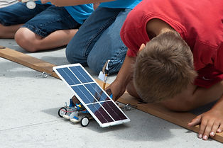 Our Science Safari Earth Matters show enlightens children's awareness about solar energy uses