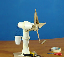 Science Safari Hands-on STEM renewable energy workshop for primary students to build a wind turbine