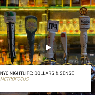 Pitched, shot, wrote, edited, and reported on camera about the NYC Office of Nightlife's first economic impact report.