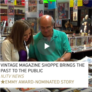 Pitched, shot, wrote, edited, and reported on camera about one man's labor of love: a massive vintage magazine collection.  This story was nominated for a Mid-Atlantic Emmy Award.