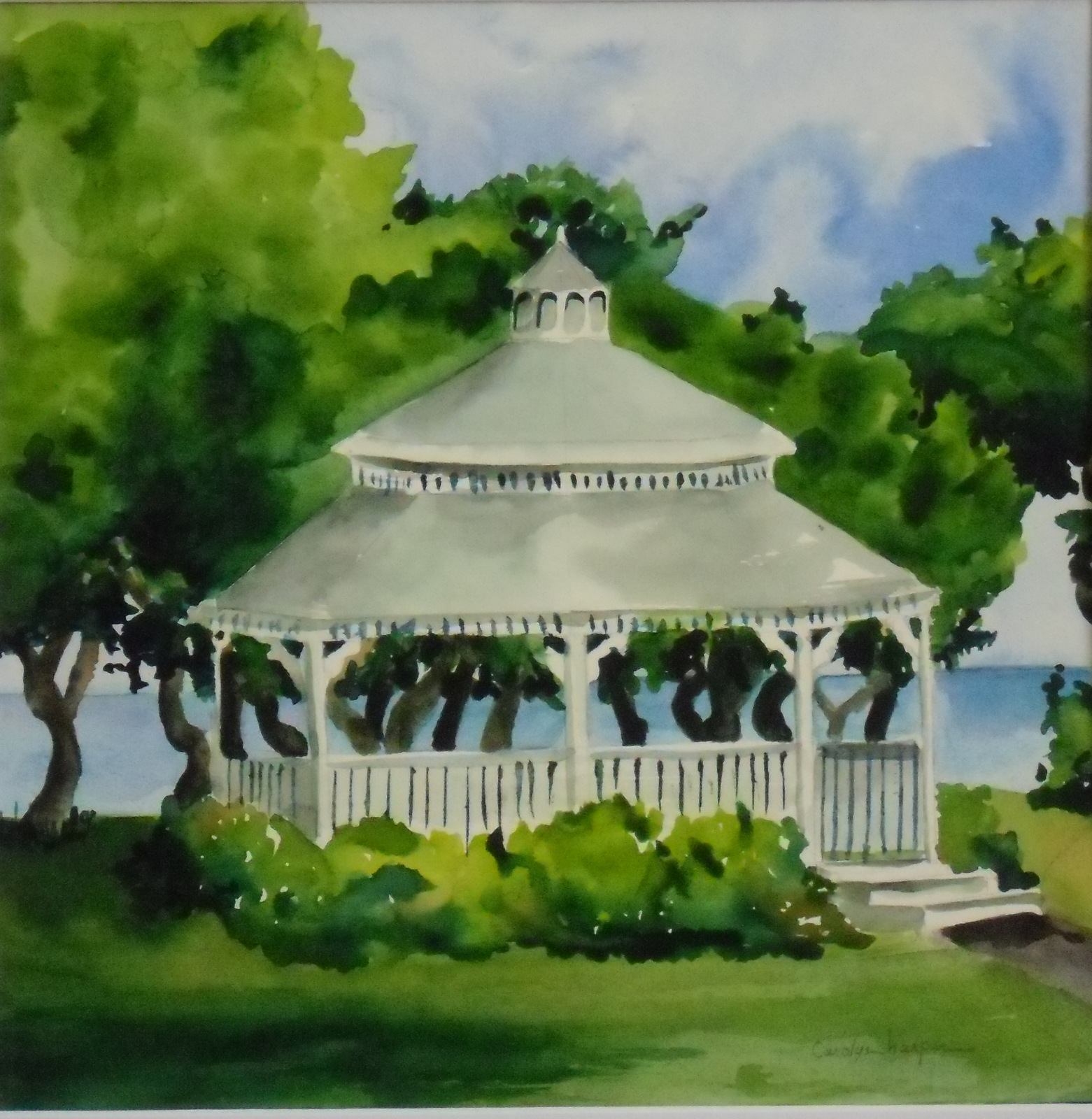 Fairmont Wedding Gazebo