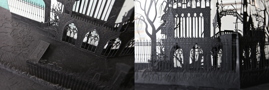 August 2016 – Dracula Pop-up Book
