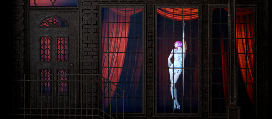 April 2018 - The McGuires' Solo Exhibition in London - 'The Dark Dolls House