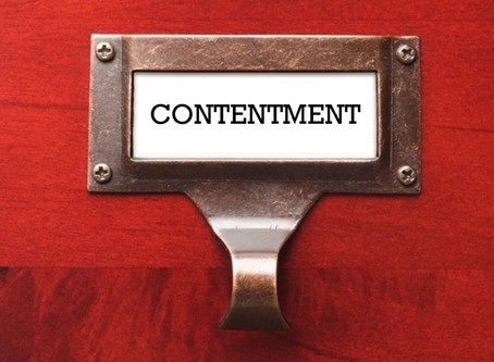 Anticipation and Contentment